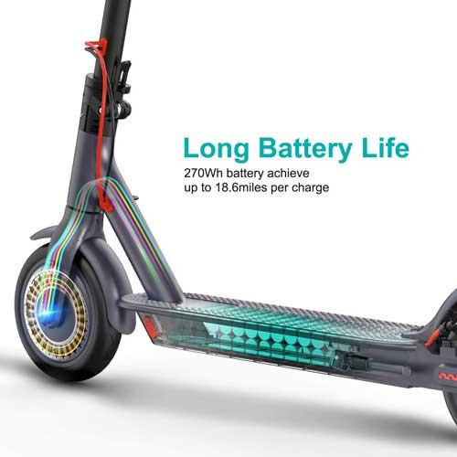 monopattino elettrico macwheel mx1 batteria