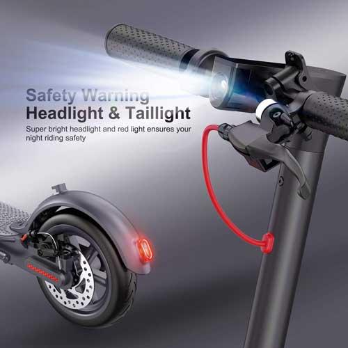 monopattino elettrico macwheel mx1 con luci a led