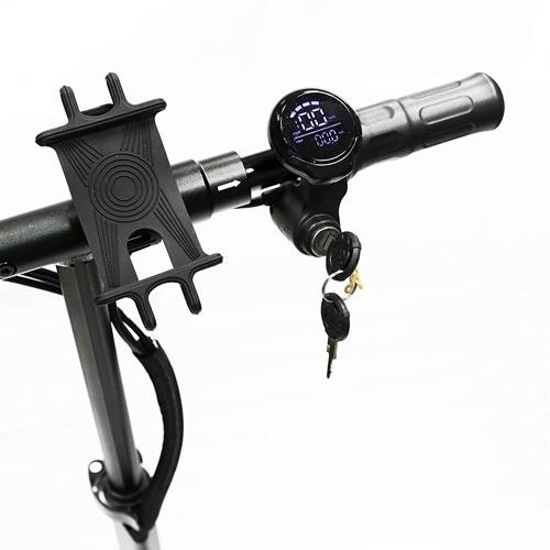 display a led nilox doc urban e accensione con chiave