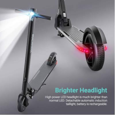 Macwheel mx3 sistema di illuminazione