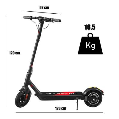 Peso e dimensioni monopattino kingson ks n10 hp
