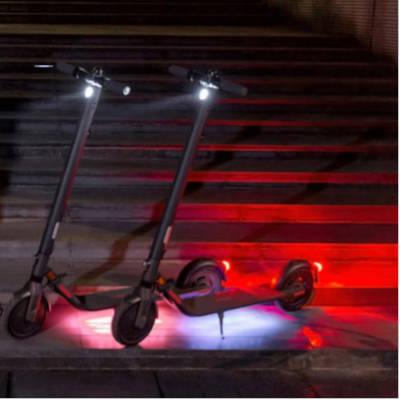luci a led colorate ambientali ninebot e25e monopattino elettrico
