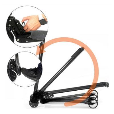 sistema di chiusura monopattino elettrico i-bike freedom