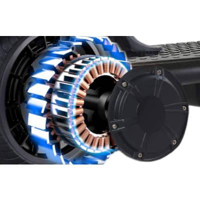 motore posteriore monopattino elettrico i-bike mono jet